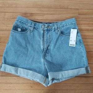 BDG High Waisted Mom Short